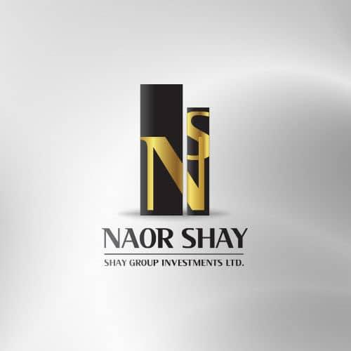 עיצוב לוגו נאור שי חברת השקעות ונדל״ן