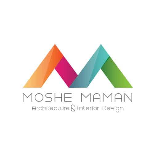 עיצוב לוגו עבור אדריכל ומעצב פנים משה ממן