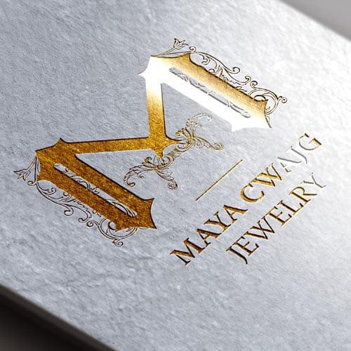 עיצוב לוגו מעצבת תכשיטים