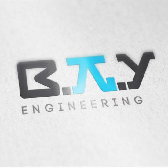 עיצוב לוגו מהנדס